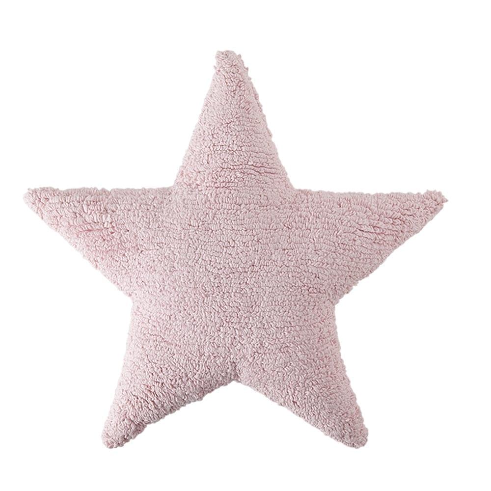 Lorena Canals - Star Cushion - Pink - 54 x 54 cm