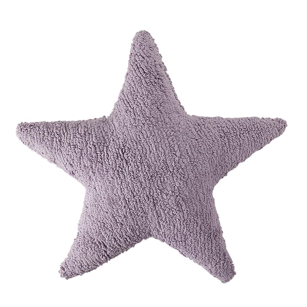Lorena Canals - Star Cushion - Purple - 54 x 54 cm