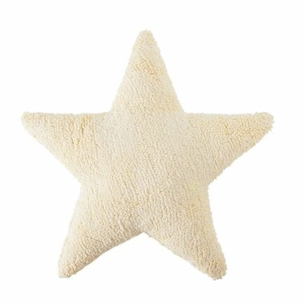 Lorena Canals - Star Cushion - Vanilla - 54 x 54 cm