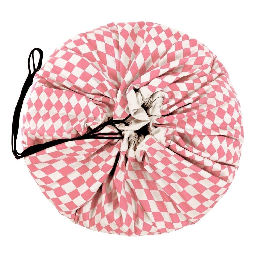 Toy Storage Bag – Pink Diamonds – ø 140 cm