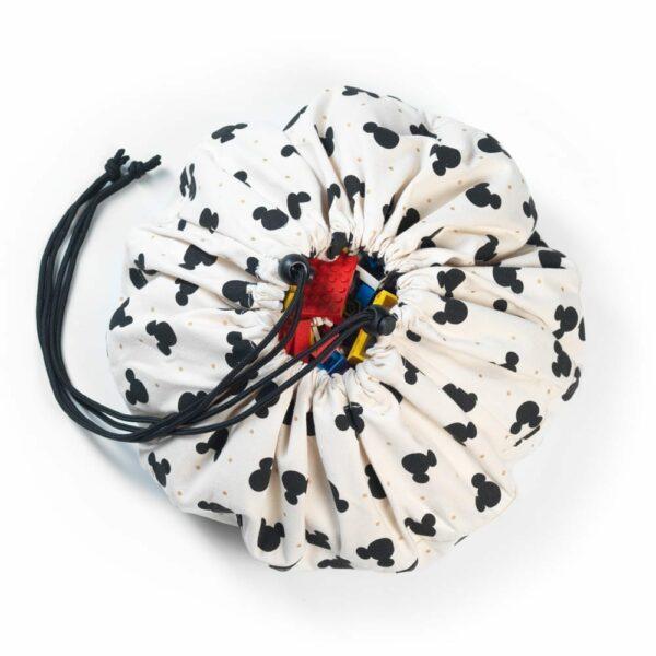 Play&Go - Mini Toy Storage Bag - Mickey Black