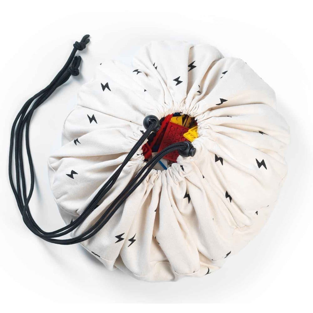 Mini Toy Storage Bag – Thunderbolt – ø 40 cm