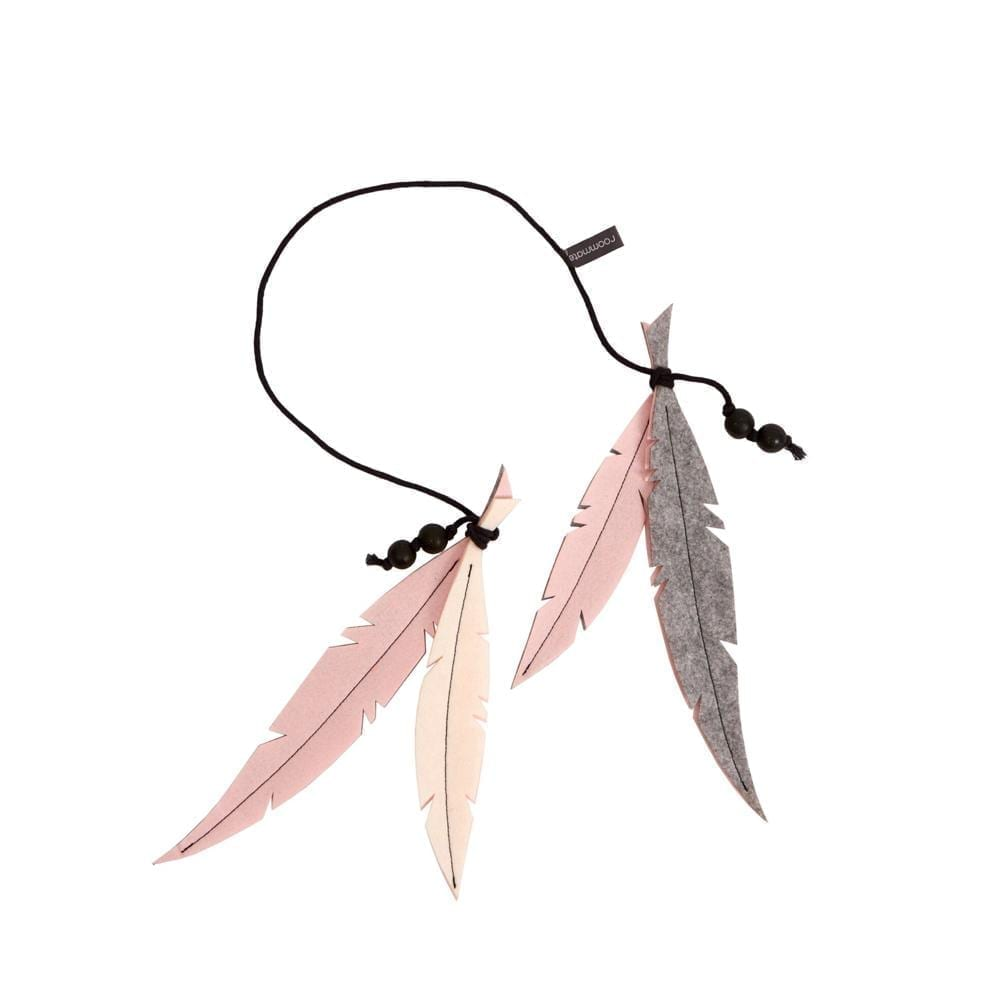 Feather Mobile – Rose