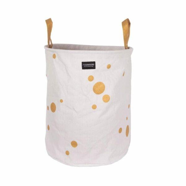 Basket - Golden Dots