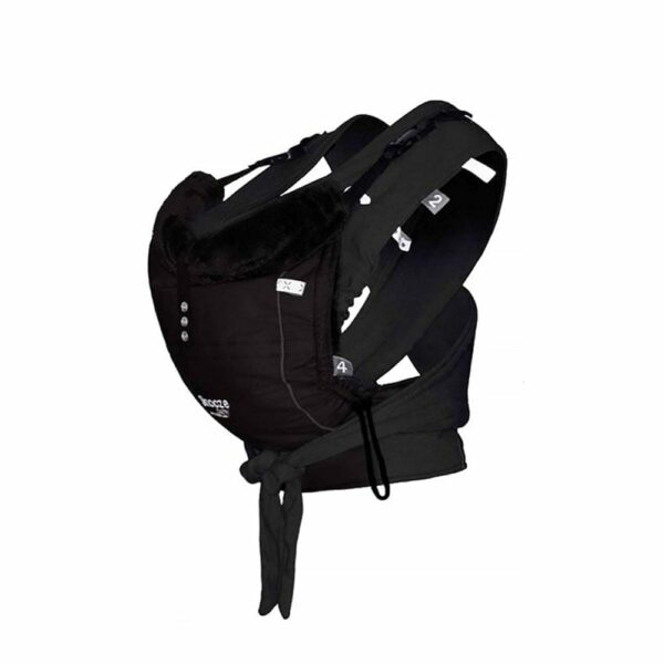 Baby Carrier - Kiss and Carry - All Black
