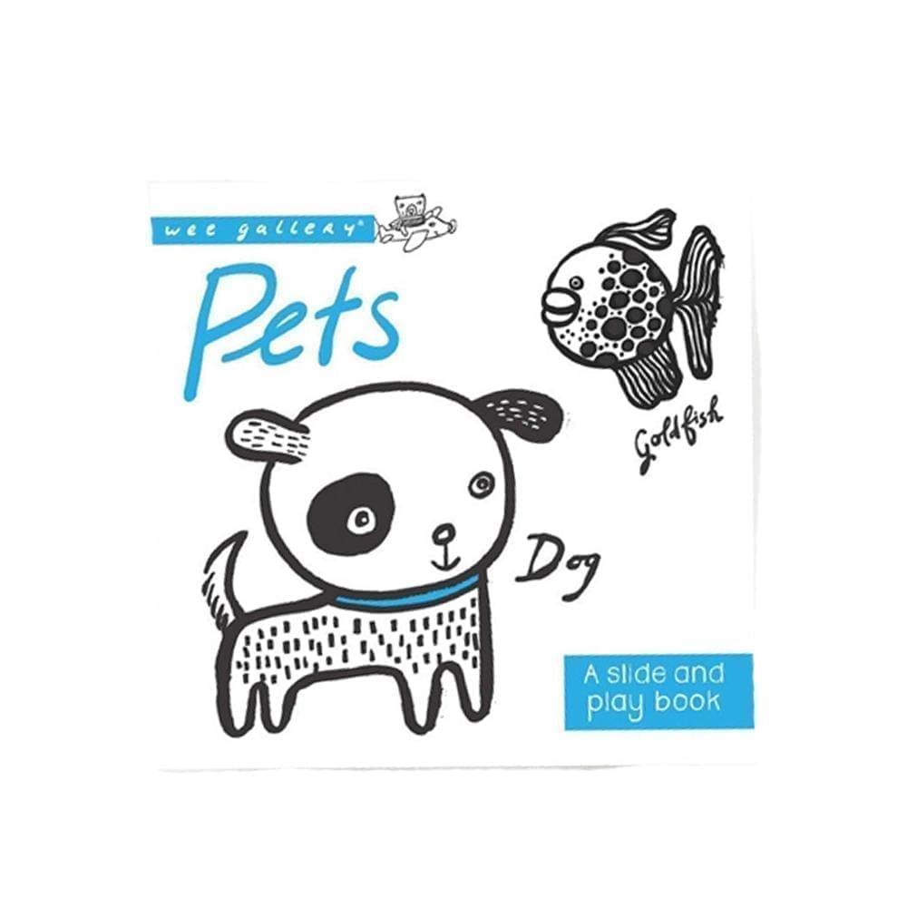 Wee Gallery – Slide & Play Boek – Huisdieren