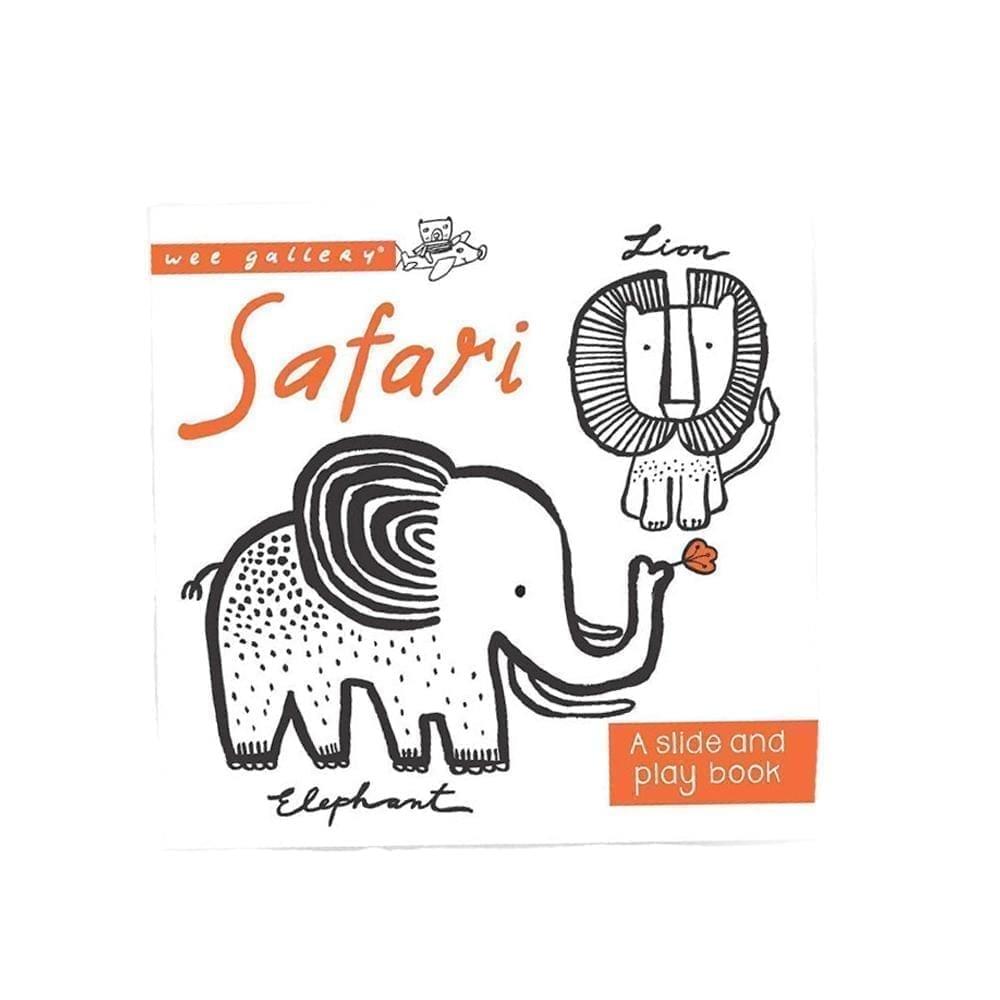Wee Gallery – Slide & Play Boek – Safari