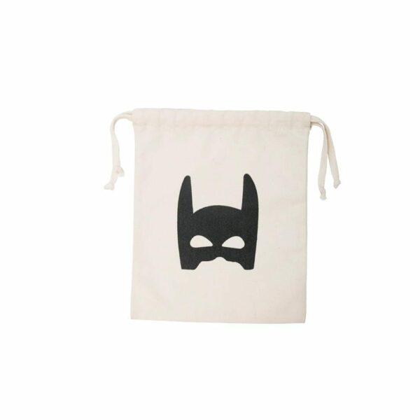 Tellkiddo - Toys Storage Bag, Cotton - Superhero