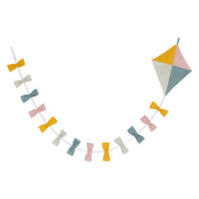 Roommate – Kite Garland – Multi Pastel