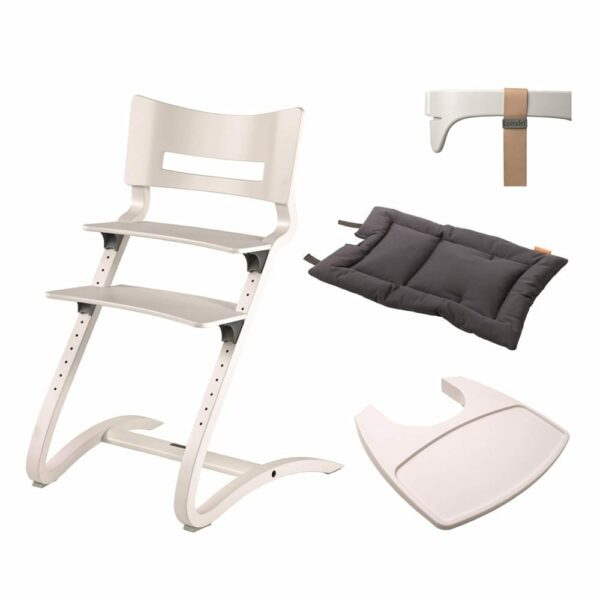 Leander - High Chair - White Combi