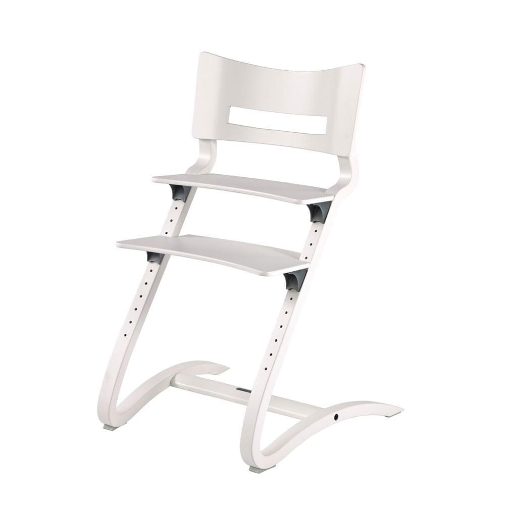 Leander – Classic Hoge Kinderstoel – Wit