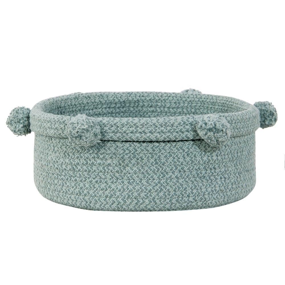 Lorena Canals – Small Basket – Tray – Vintage Blue – 12 x Ø 30 cm