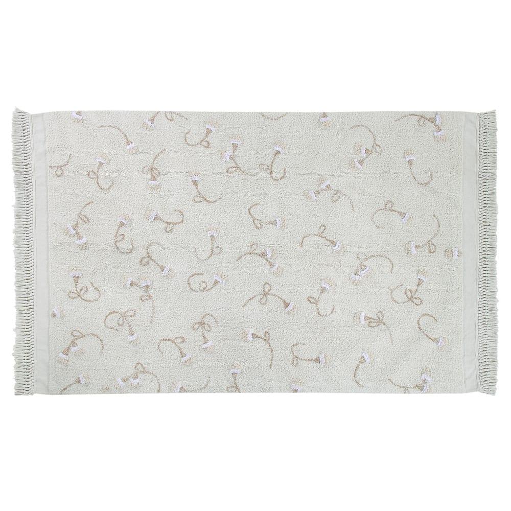 Lorena Canals – Großer Teppich – Englischer Garten – Ivory – 140 x 210 cm