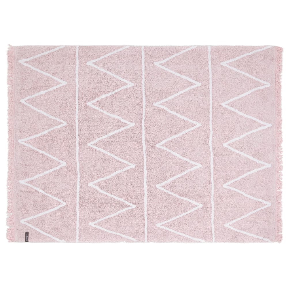 Lorena Canals – Kinderteppich – Hippy – Soft Pink – 120 x 160 cm
