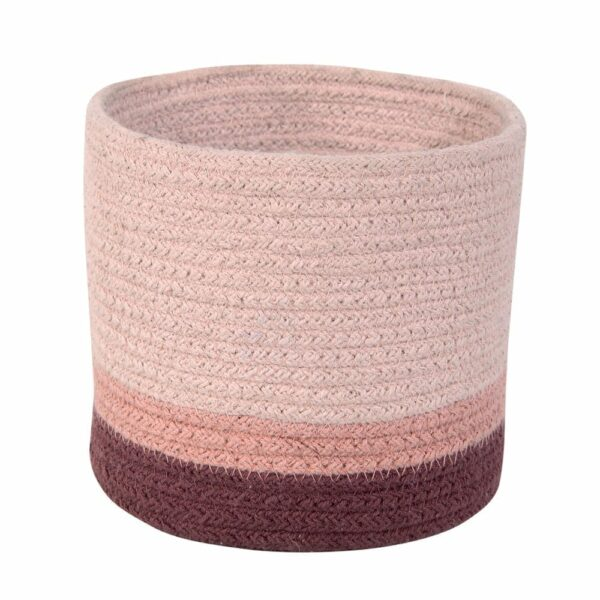 Lorena Canals - Mini Basket Tricolor - Vintage Nude - 15 x Ø 15 cm
