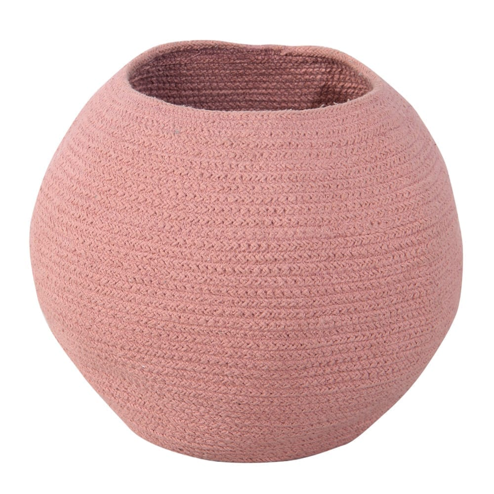 Lorena Canals – Storage Basket – Bola – Muted Clay – 27 x ø 30 cm