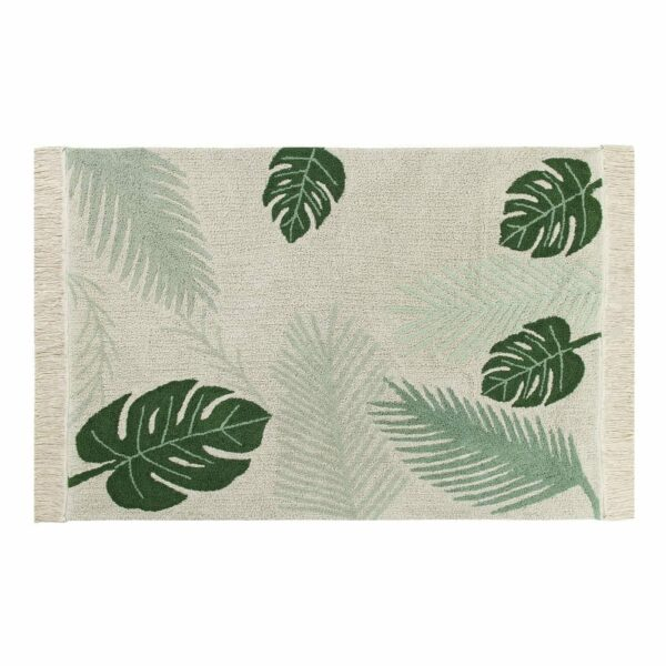 Lorena Canals Washable Rug Tropical Green 140 x 200 cm