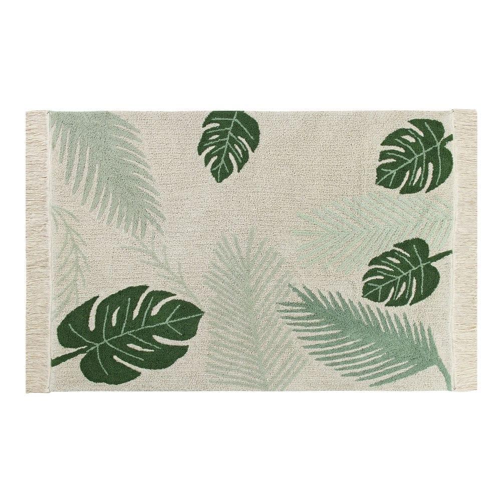 Lorena Canals – Retro Vloerkleed – Tropical Green – 140 x 200 cm