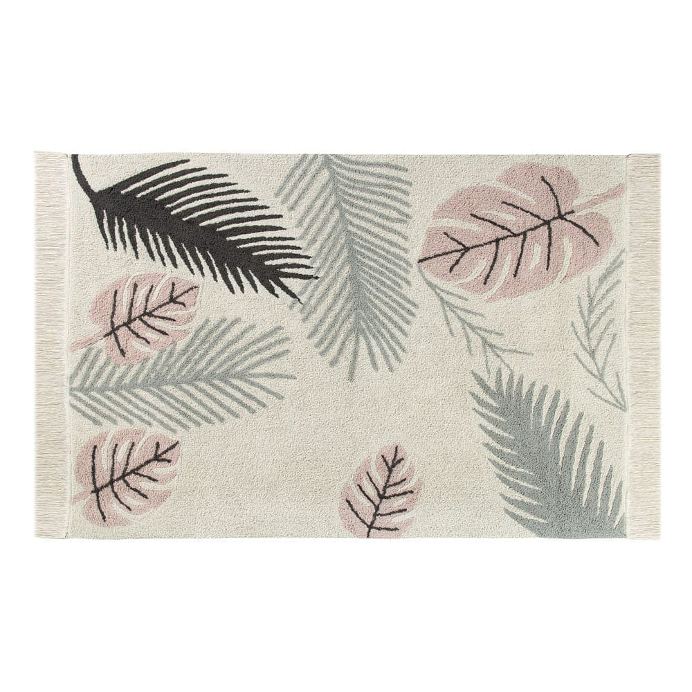 Lorena Canals Washable Rug Tropical Pink 140 x 200 cm