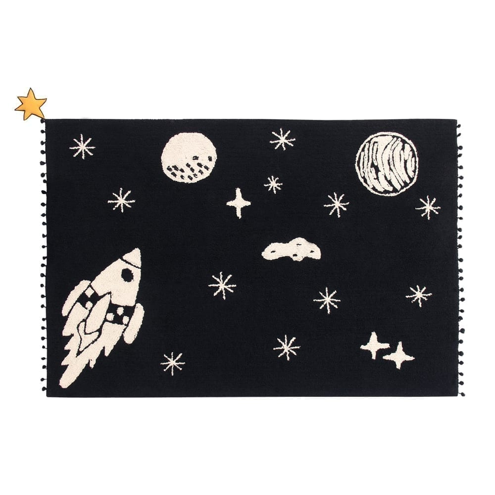 Kindervloerkleed – Universe – 140 x 200 cm