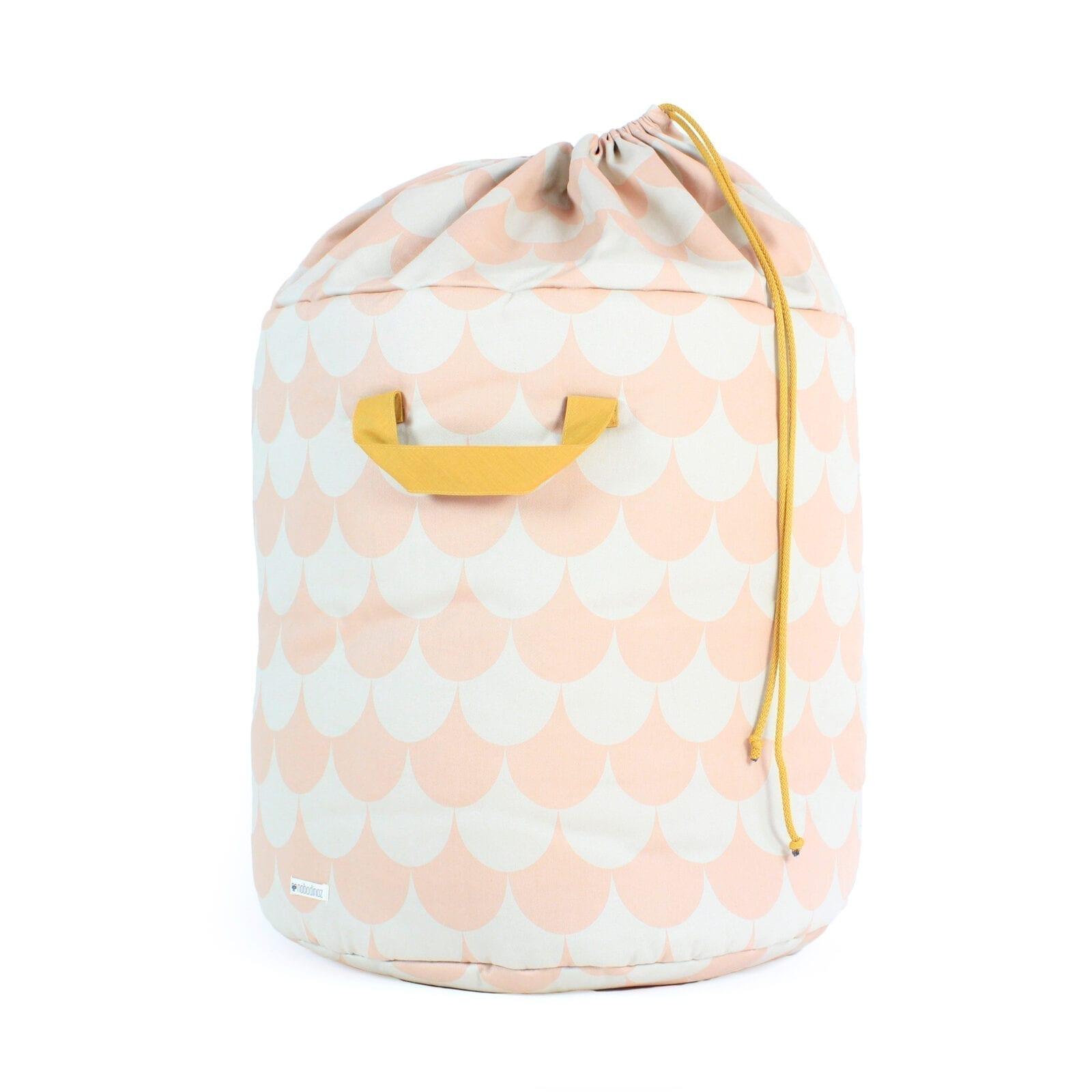 Nobodinoz – Toy Bag – Baobab – Scales – Pink