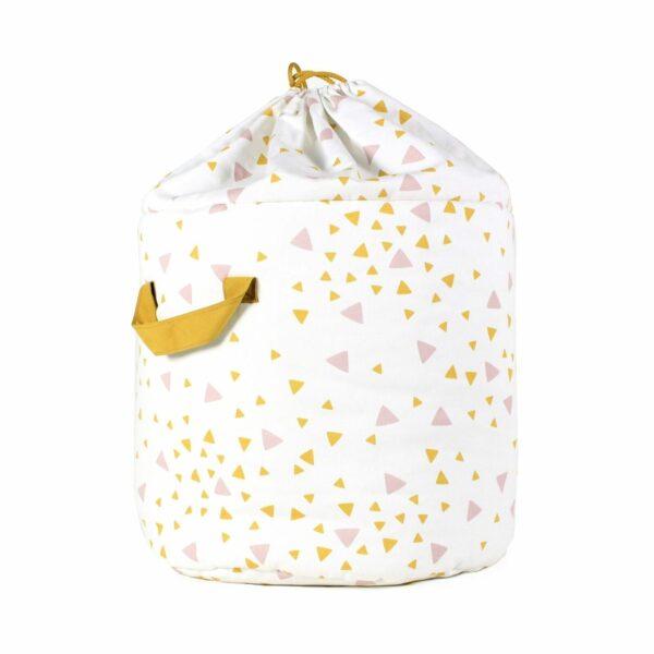 Nobodinoz Baobab Toy Bag Sparks in pink honey