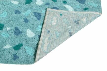 Lorena Canals - Wasbaar Vloerkleed - Terrazzo - Green - 140 x 200 cm