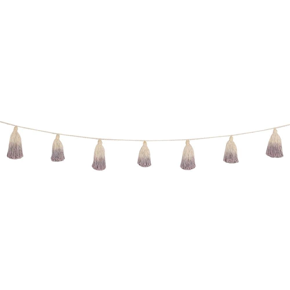 Lorena Canals - Garland - Pom Pom Tie Dye - Wood Rose - 170 cm