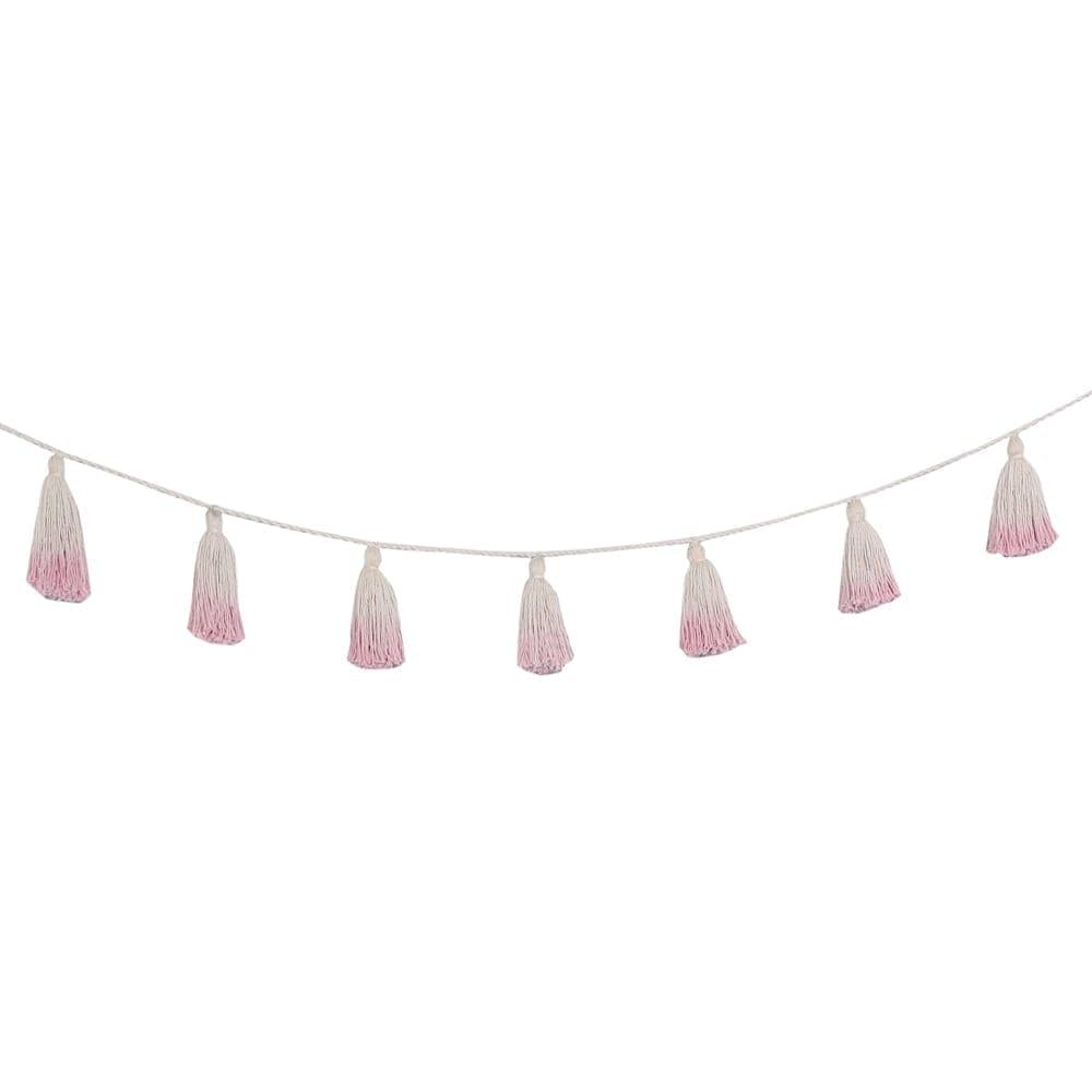Garland – Pom Pom Tie Dye – Pink – 170 cm