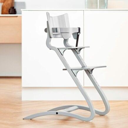 Leander-Classic-Safetybar-Highchair-Grey