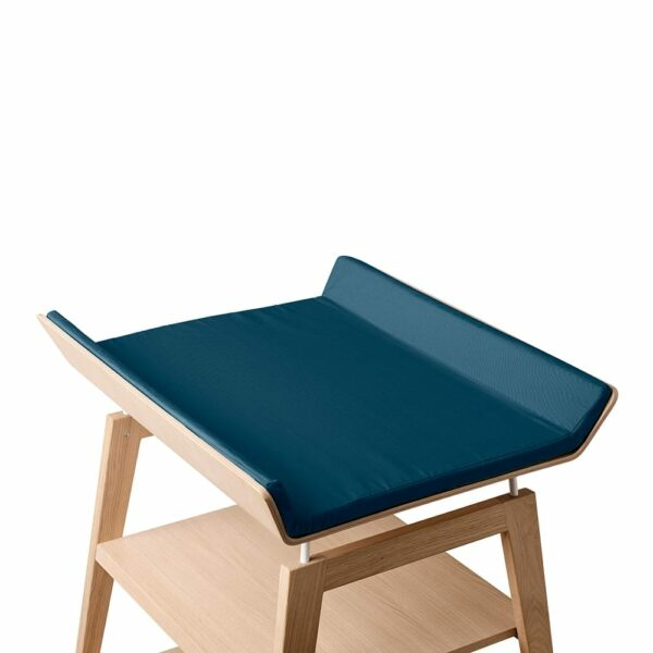 Leander Linea cover for changing table dark blue