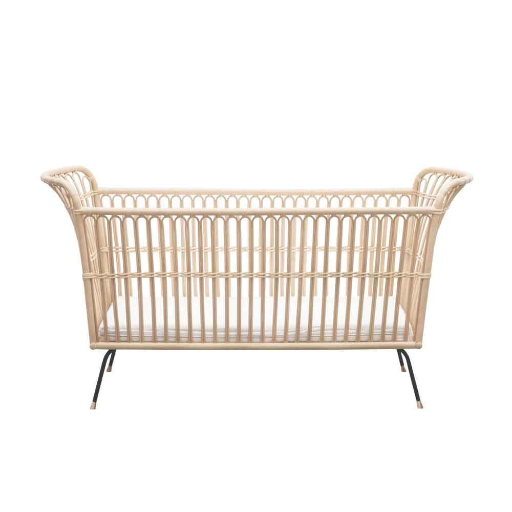 Rattan Baby & Junior Bed – Frederick