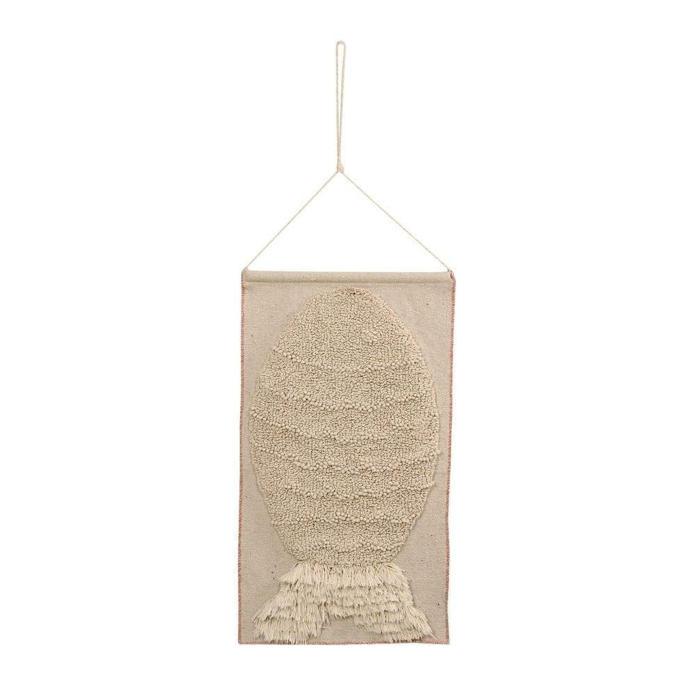 Lorena Canals – Wall Hanging – Big Fish – 35 x 65 cm