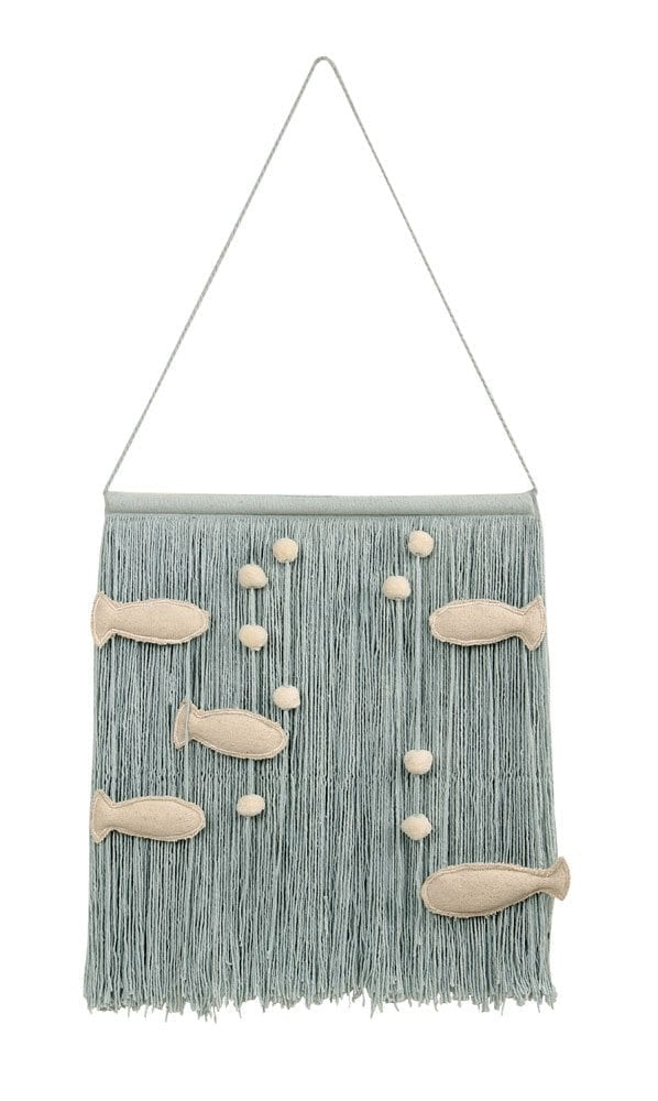 Lorena Canals - Wall Hanging - Ocean - 40 x 45 cm