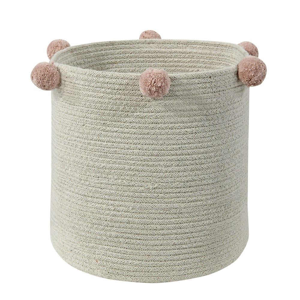 Lorena Canals – Storage Basket – Bubbly – Natural Nude – 30 x 30 cm