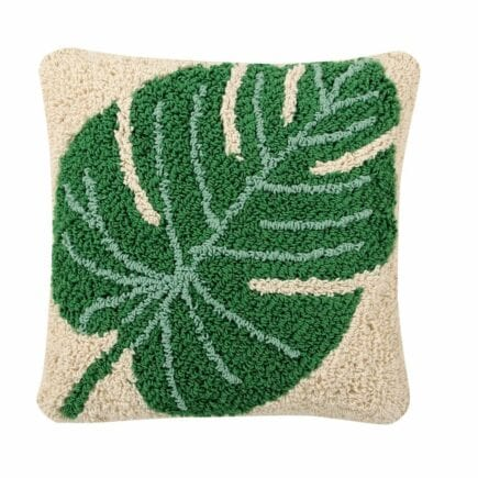 Lorena Canals - Washable Cushion - Monstera - 38 x 38 cm