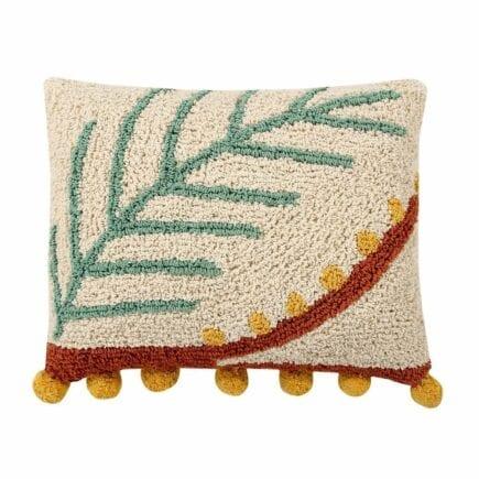 Lorena Canals - Washable Cushion - Palm - 38 x 48 cm