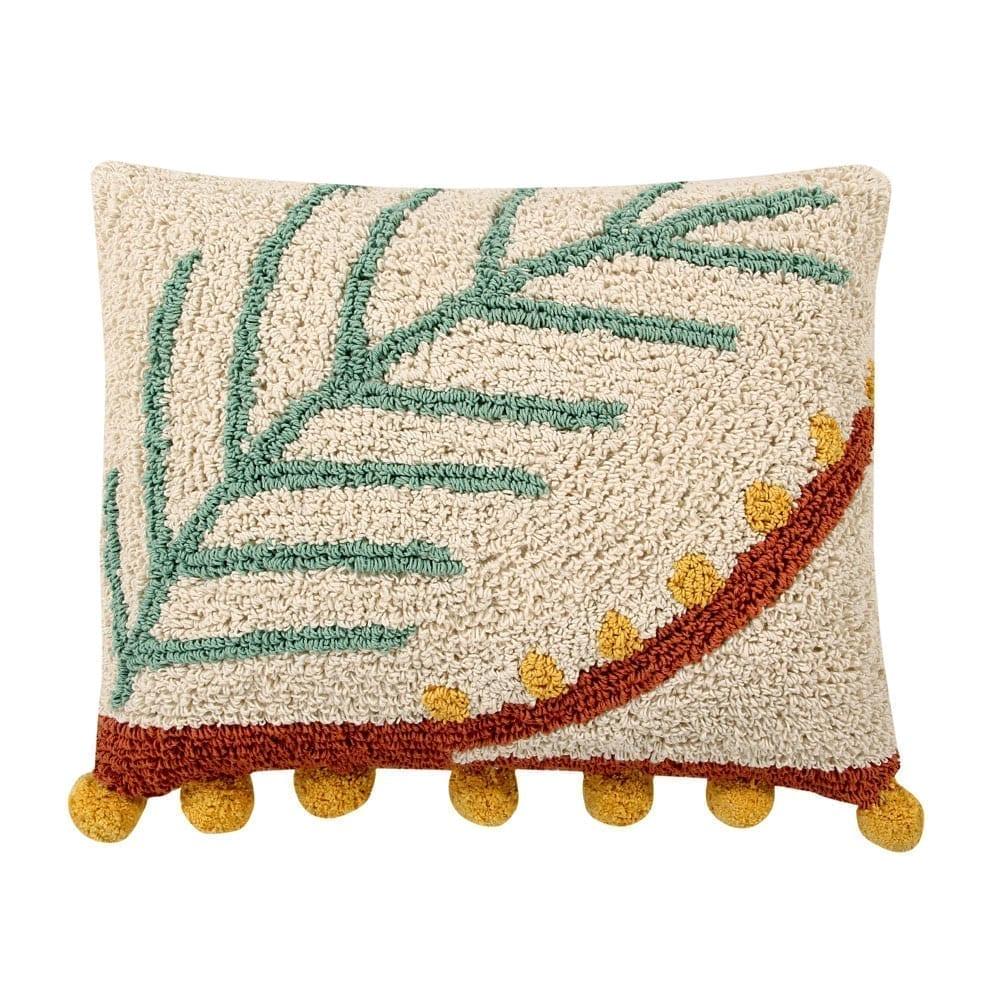 Lorena Canals – Wasbaar Kussen – Palm – 38 x 48 cm