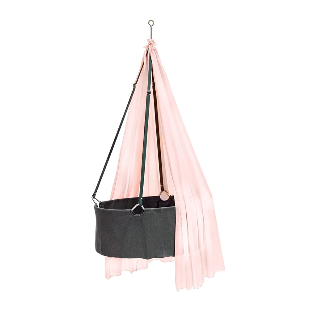 Leander – Canopy for Classic Baby Cradle – Soft Pink