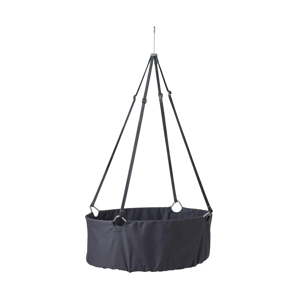 Leander – Classic Baby Cradle incl. mattress – Grey