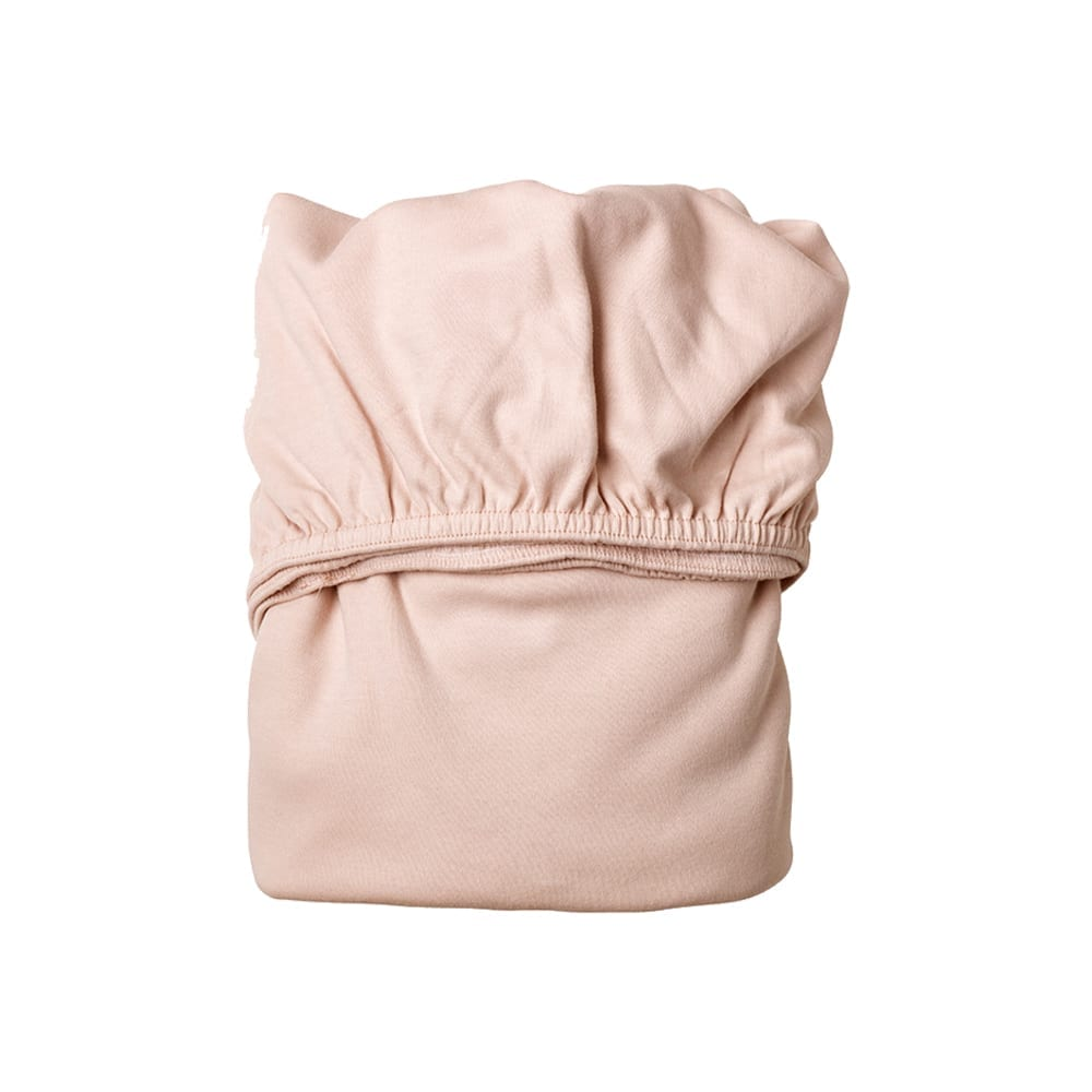Leander – Sheet for Classic Baby Cradle Organic – Soft Pink (2pcs)