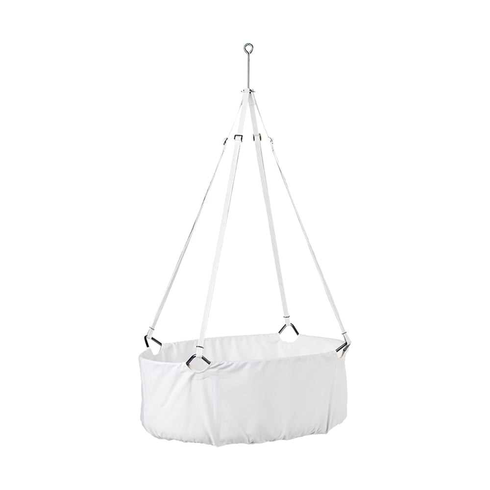 Leander – Classic Baby Cradle incl. mattress – White