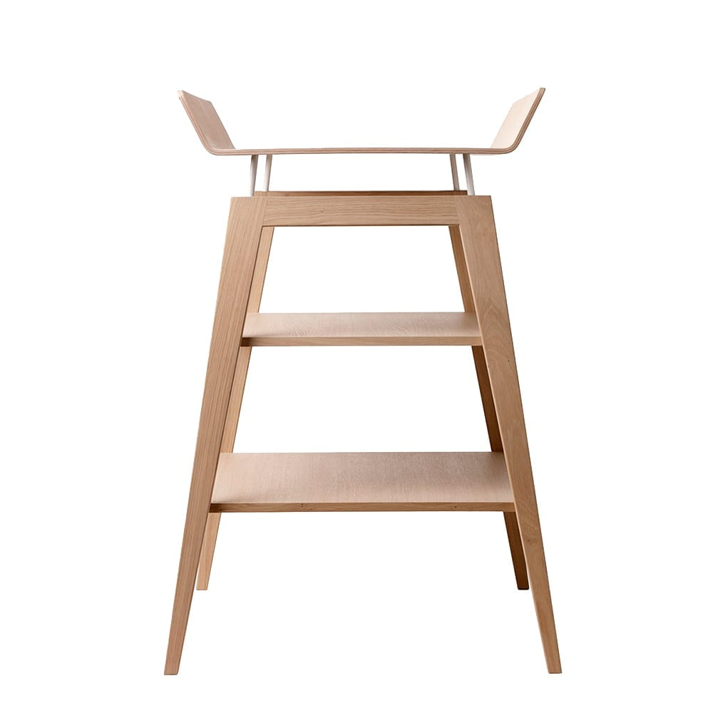 Leander – Linea Changing Table with mat – Solid Oak
