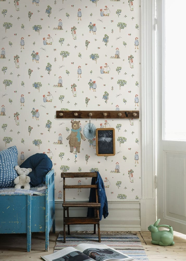 BoråsTapeter | Wallpaper Children's Room - Putte | Free ...