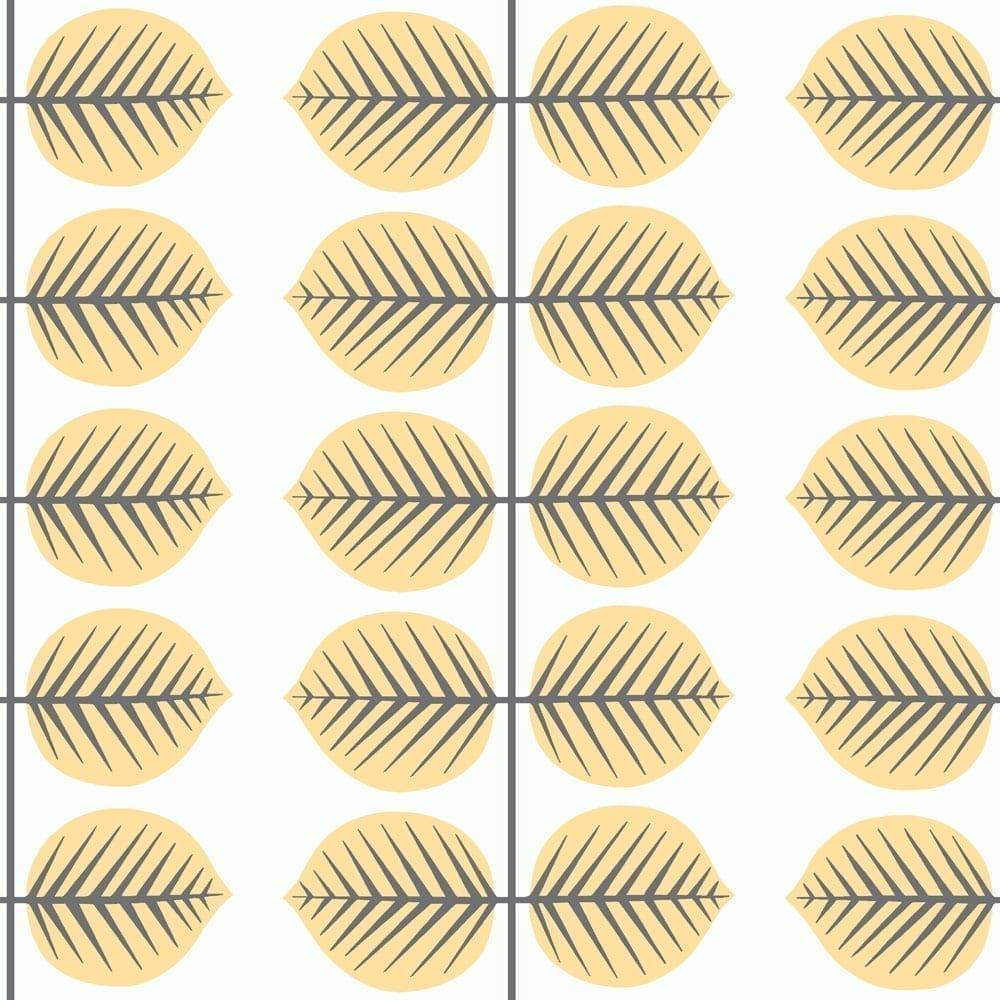 BoråsTapeter – Kinderzimmer Tapete – Berså II – Gelb