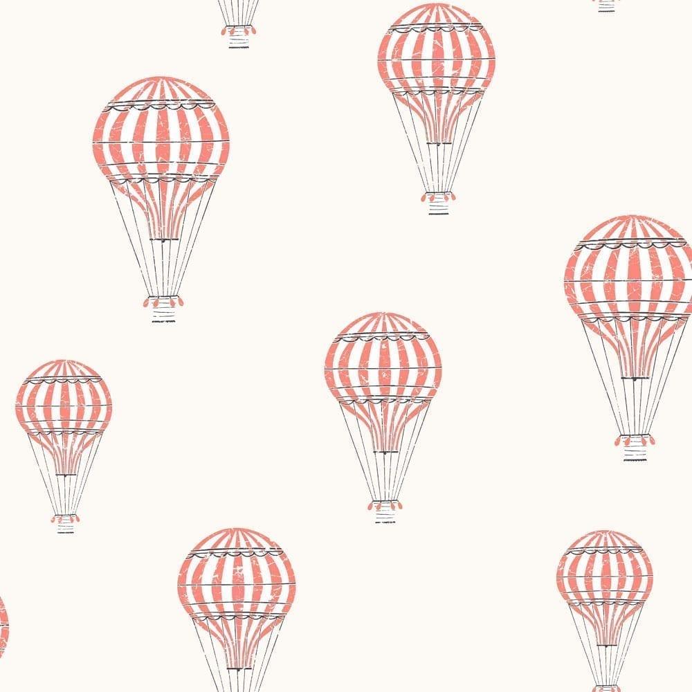 BoråsTapeter – Kinderzimmer Tapete – Ballong – Rot