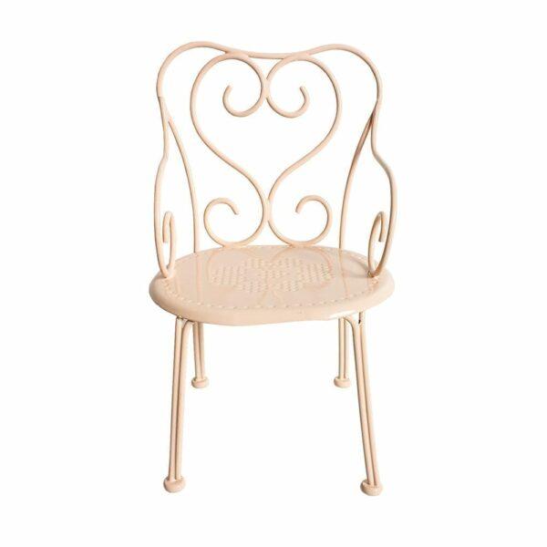 Maileg Romantic Chair - Powder - 18 cm