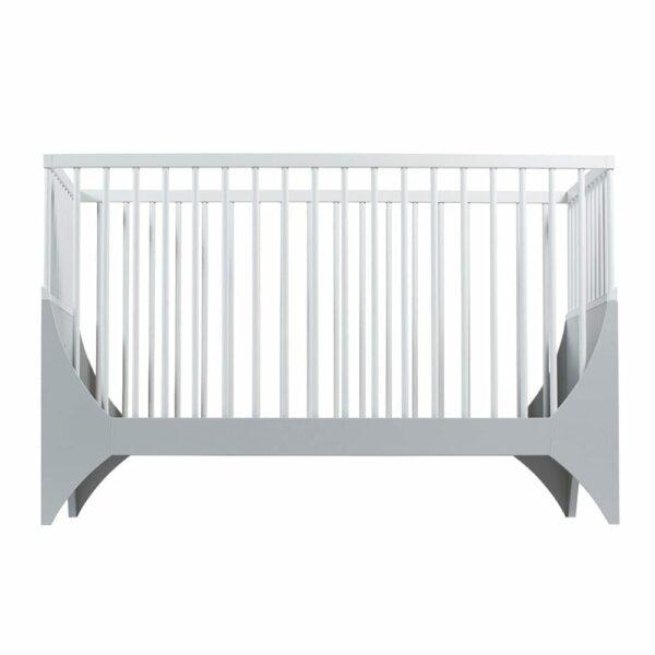 Sebra - Baby Cot - Yomi Bed - Moon Grey/White