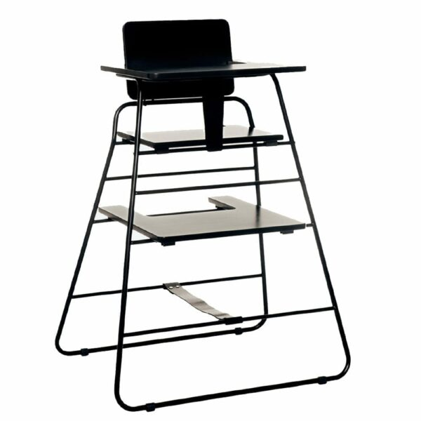 BudtzBendix - Tower Chair - Black - With tray