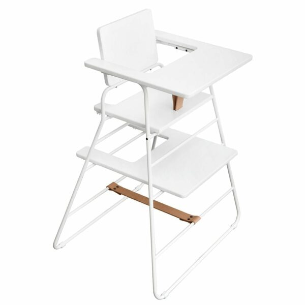 BudtzBendix - Tower Chair - White - With tray